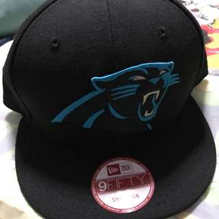 Authentic Brand New Carolina Panthers New Era Snapback