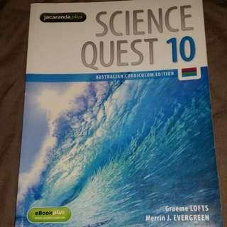 Jacaranda Plus Science Quest 10