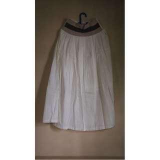 Long Skirt - Broken White