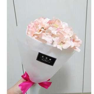情人節花束 情人禮物首選 畢業花束 聖誕花束 繡球花束 仿真花束 人造花 禮物