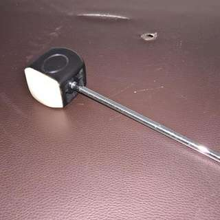 Bass Drum Beater Dual Side Beater (Rubber / Plastic)