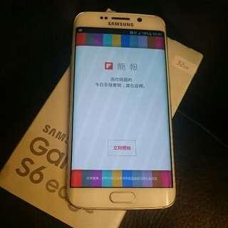 Samsung S6 edge 32G白