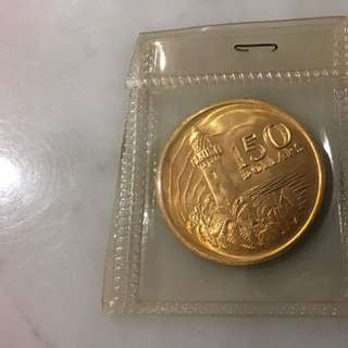 Singapore 150 Year Anniversary Gold Coin