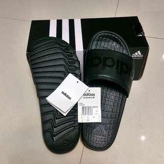 Adidas 拖鞋 全黑
