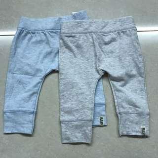 2 Piece Set Cotton On Boy Pants 3-6months