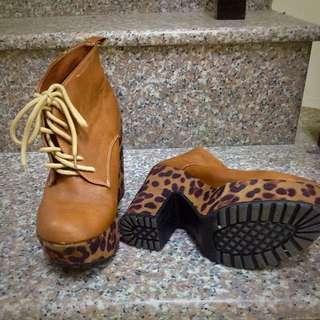 厚底 美靴