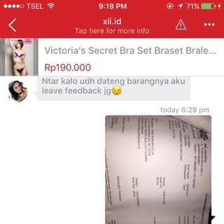 Testimonials From Gorgeous Buyer Bikini Swimsuit Baju Renang Celana Dalam Underwear Wanita Lingerie Bra Wanita