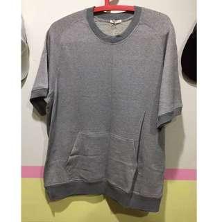GU 棉質短袖上衣 寬鬆版(XL號)