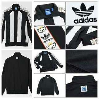 Adidas Nigo ORIGINAL Runner Black White Tracktop