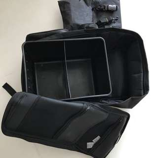 Black Bike Bag