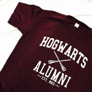 Hogwarts Alumni (Harry potter Tees)