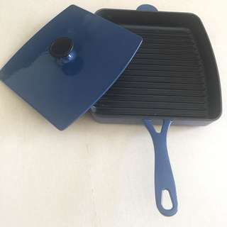Benzer 30cm Grill Pan and Press