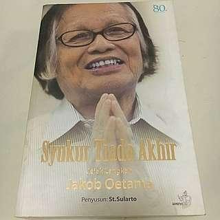 Buku Syukur Tiada Akhir (original)