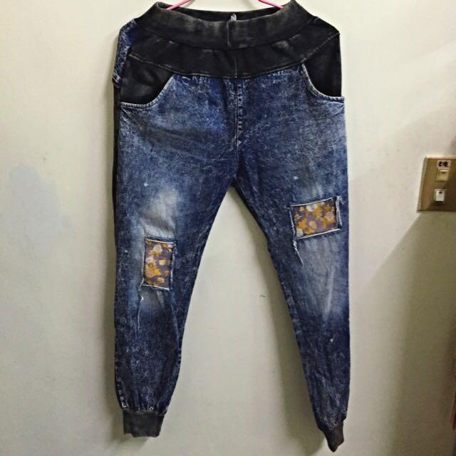 破壞伸縮牛仔褲(降價