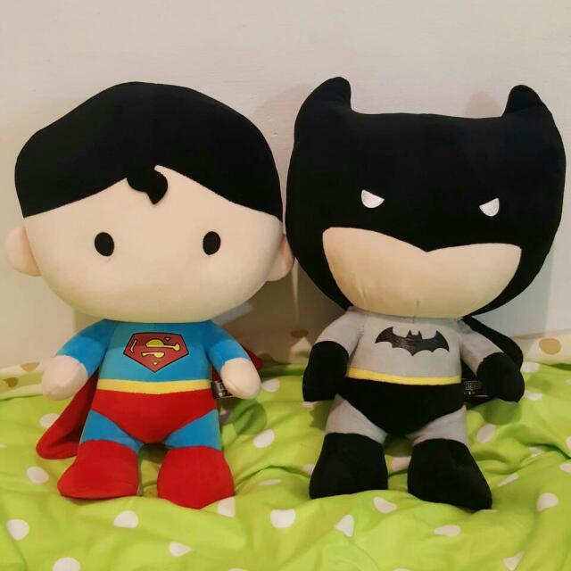 💗超人 蝙蝠俠《2隻一組一起賣》