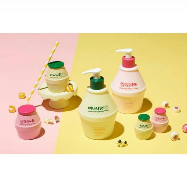 [現貨] 韓國 香蕉牛奶 護手霜roundaround x 바나나맛우유 #我的美妝可超取