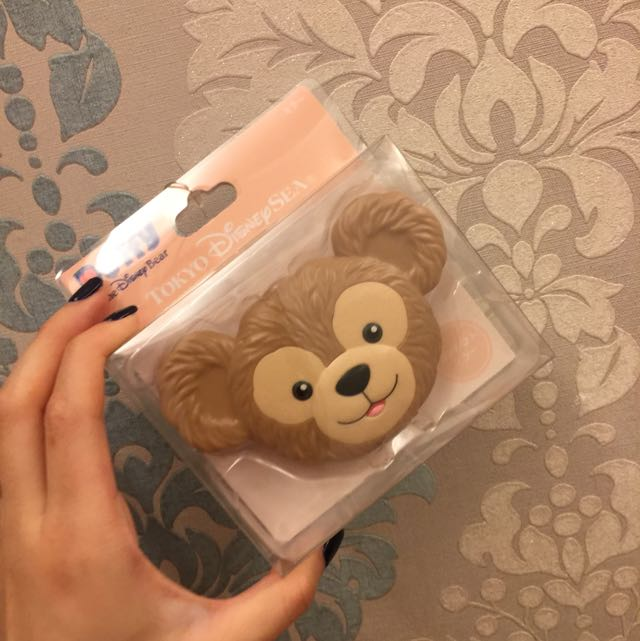 東京迪士尼達菲熊鏡子 化妝鏡 Duffy Disney 全新