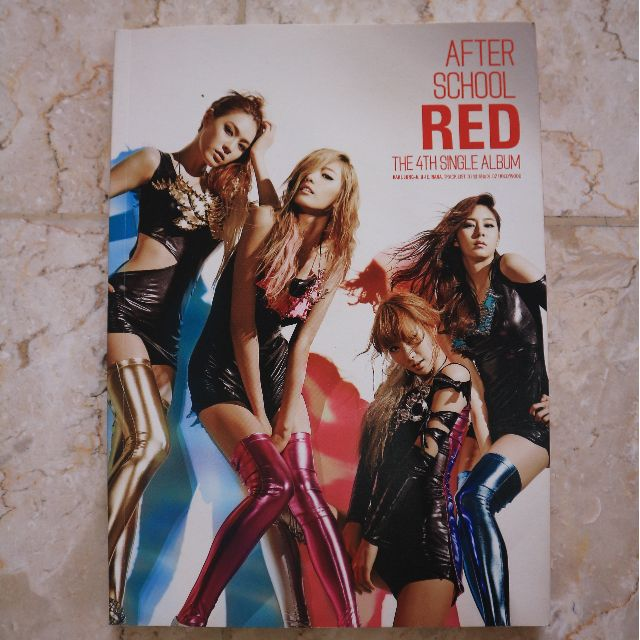 After School Red (The 4th Single Album)