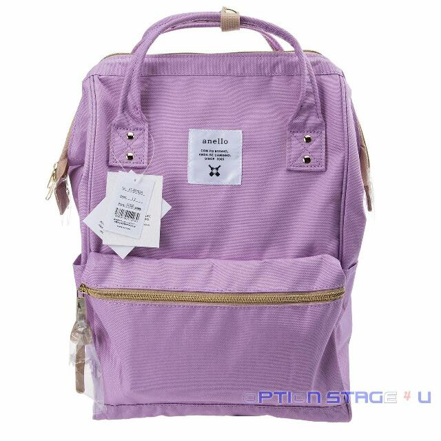Authentic Anello Backpack Large in Pastel Lavender (Onhand)