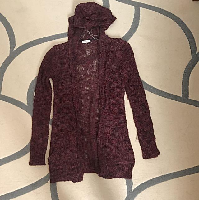 Ardene Hooded Cardigan