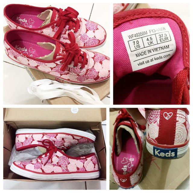 Authentic Keds Taylor Swift Champion Shoes