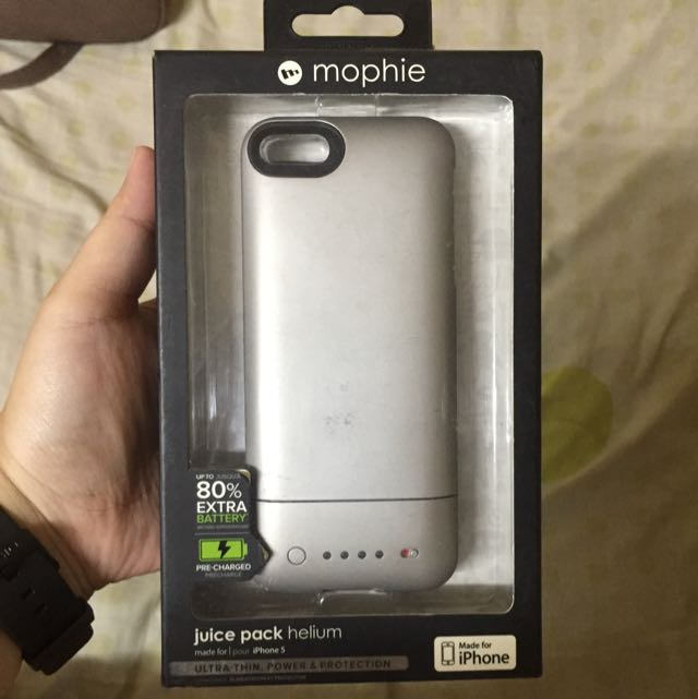 29fc83973 Authentic Mophie Juice Pack Helium For Iphone 5/5s/SE, Mobile Phones ...
