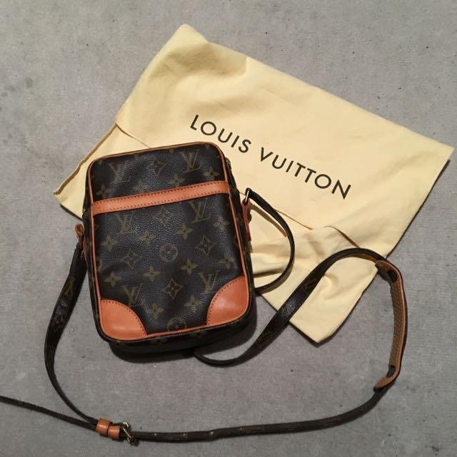 REDUCED !! authentic vintage Louis Vuitton Danube