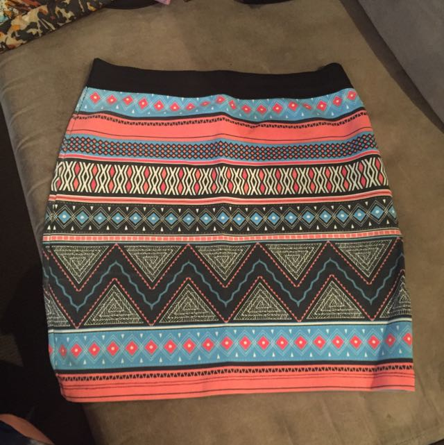 Aztec Skirt Zara