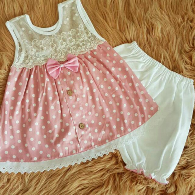 Baby Bow Pink Dress