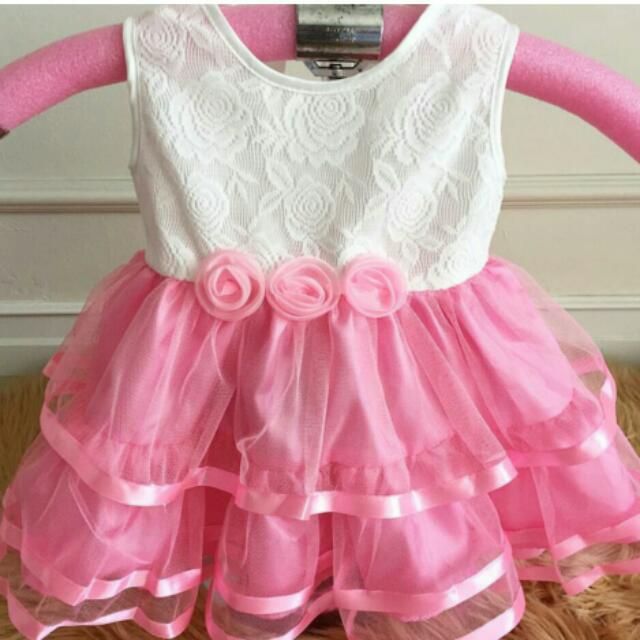 Baby Pink Arietta Dress