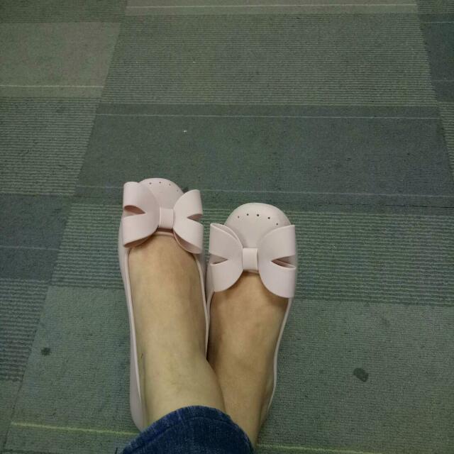 Baby Pink FlatShoes