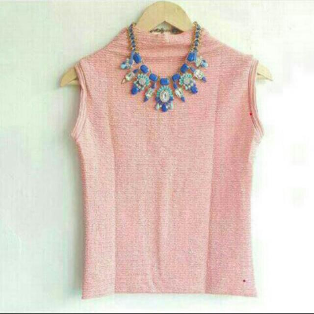 baby pink top