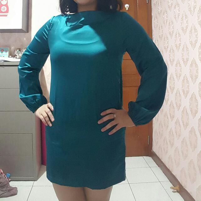 Baju Silk Size 14
