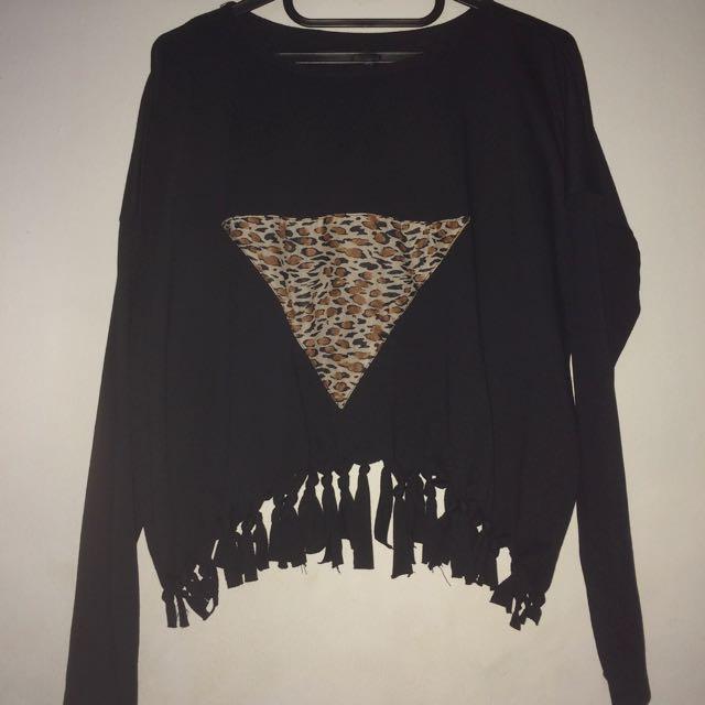 Black Fringe Clothes