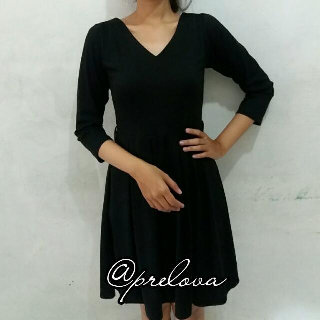 Black Simply Dress