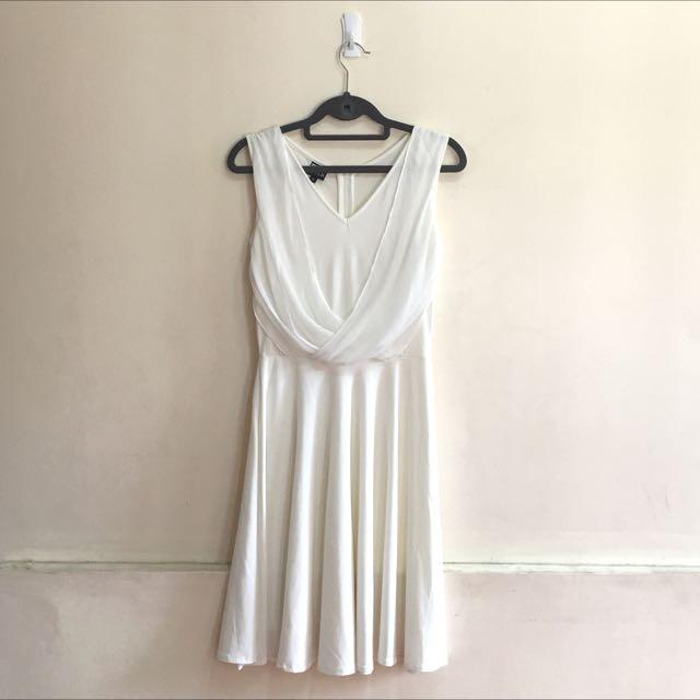 Blanc En Noir Cocktail Dress