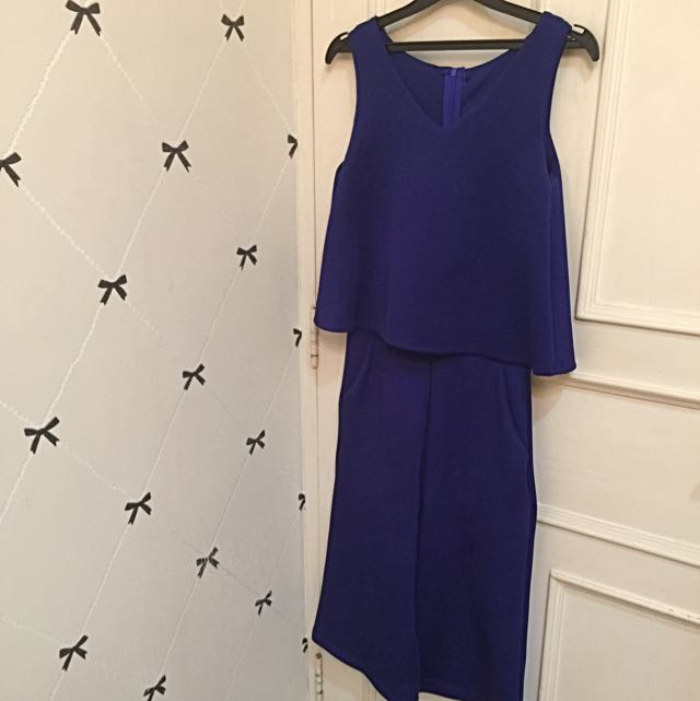 Blue Electric Dress