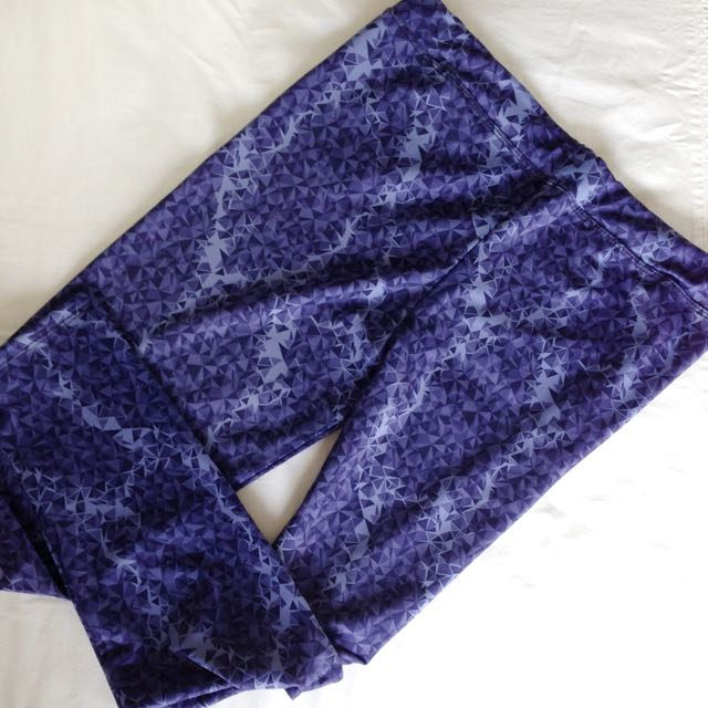 Blue Triange Leggings