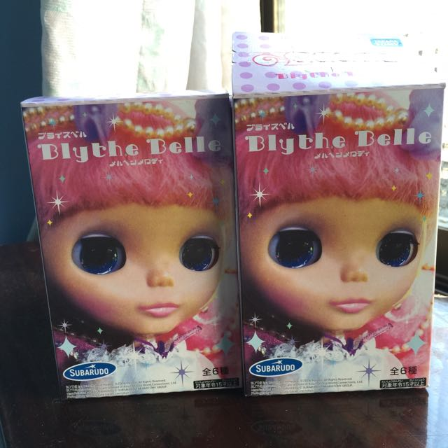 Blythe 小布二代 公仔模型盒玩