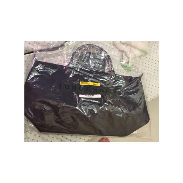 Brandnew Longchamp Neo - black