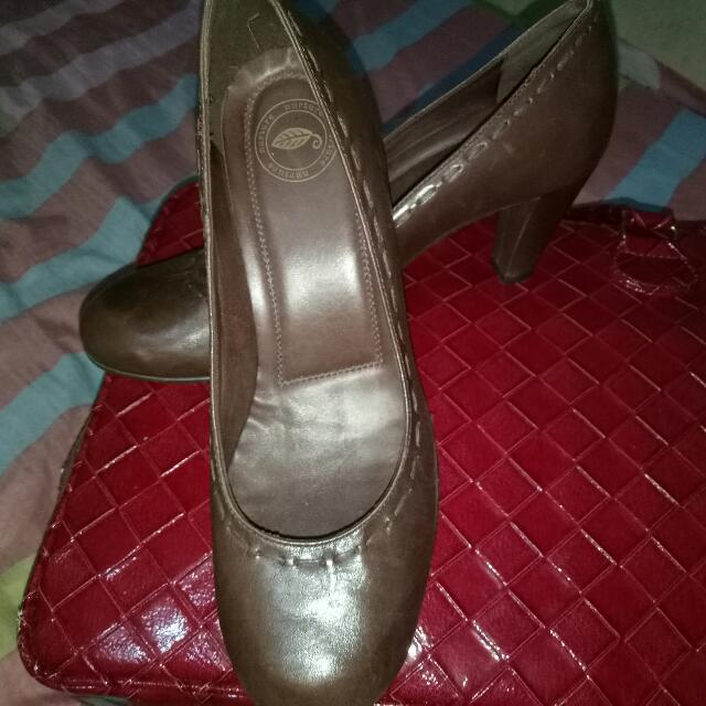 Brown Heels Shoes From US