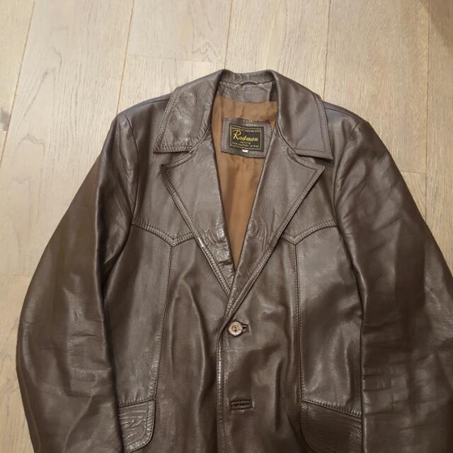 Brown Vintage Men's Leather Jacket