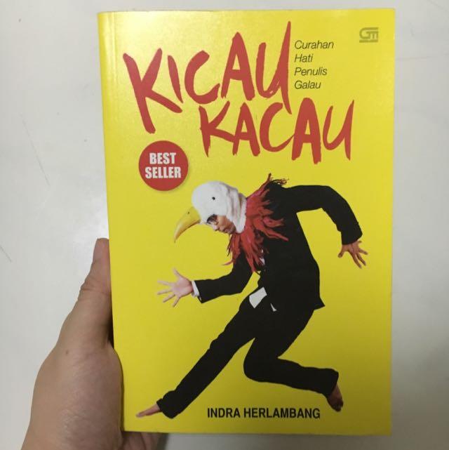 Buku Kicau Kacau By Indra Herlambang Original