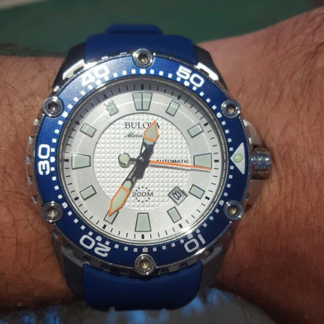 Bulova Marine Star Mens Watch