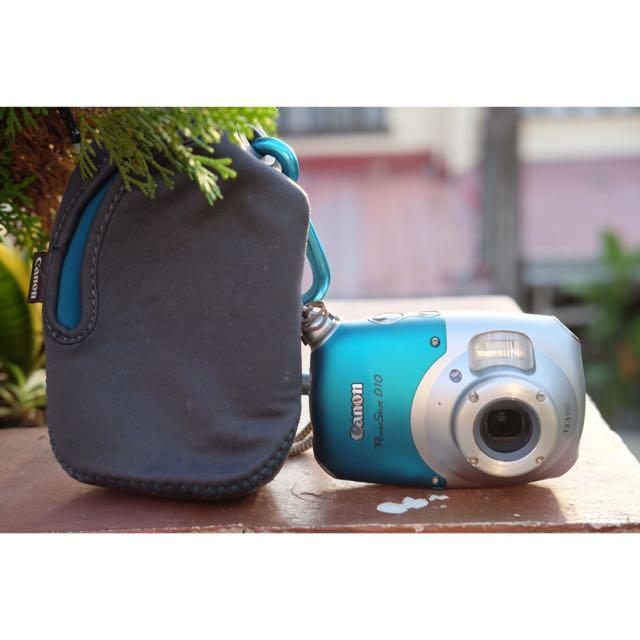 Canon D10 Digital Camera
