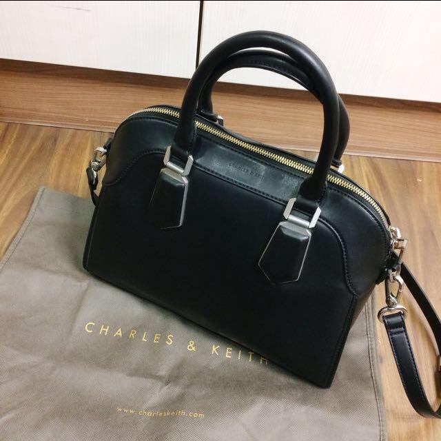Charles & Keith Top Handle Shoulder Strap Sling Bag