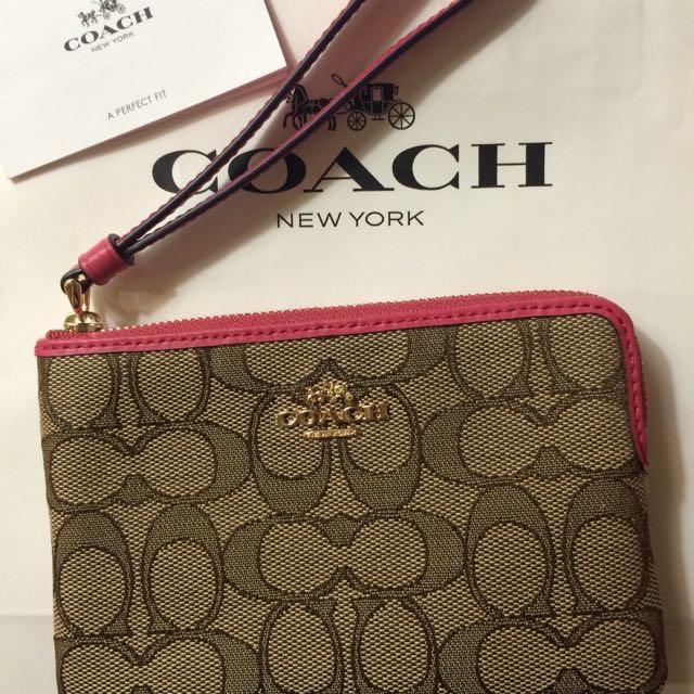 Coach零錢包