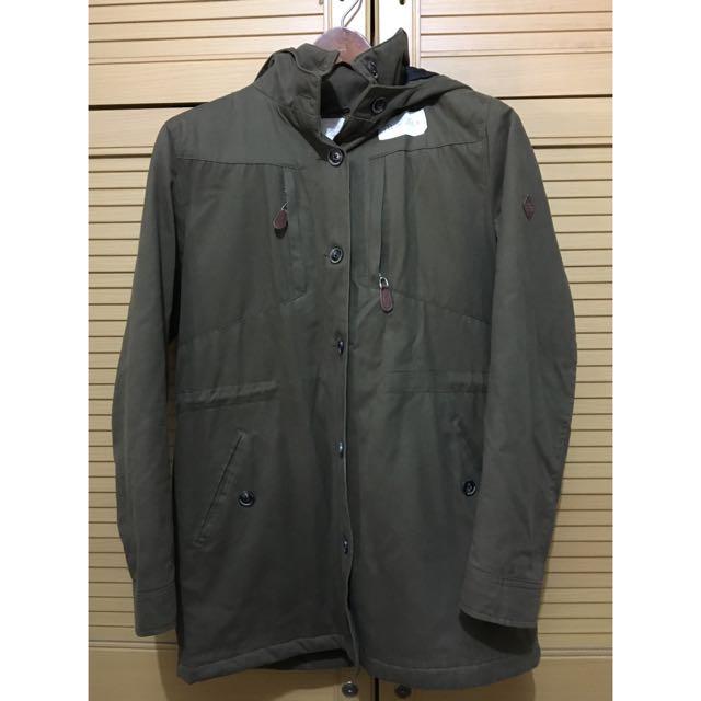 coat / parka tebal - stradivarius