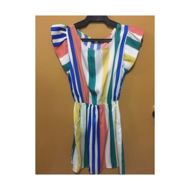 Colorful Stripes Dress