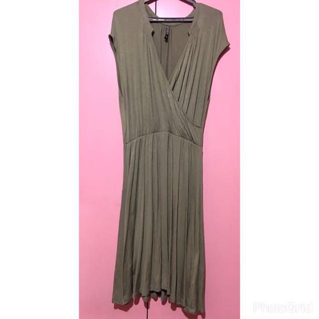 Cotton On Green Dress Medium